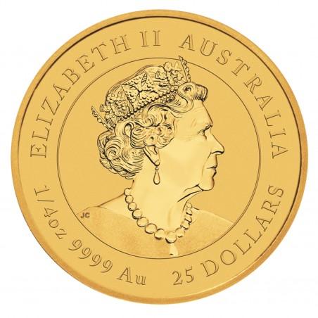 1/4 Oz 2021 Australian OX Gold Coin
