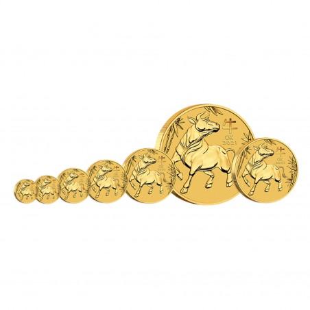 1/10 Oz 2021 Australian OX Gold Coin