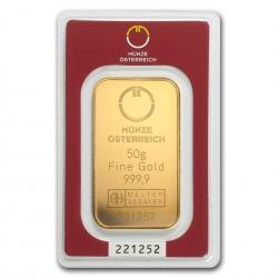 50 Grams Austrian Mint Gold...