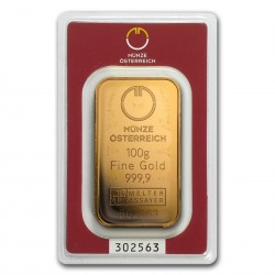 100 Grams Austrian Mint...