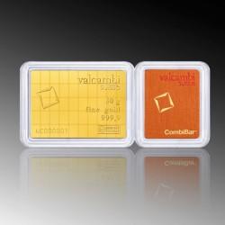 50 x 1 Gram Valcambi Gold Combibar
