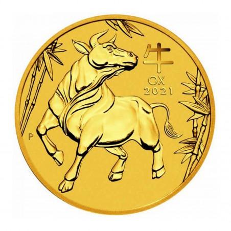 10 Oz Australian Ox 2021 Gold Coin