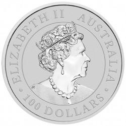 1 Oz Australian Kangaroo 2021 Platinum Coin