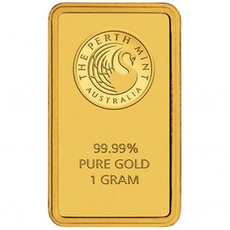 1 Gram Perth Mint Gold Bar