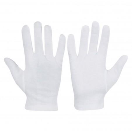 Cotton Sewn Gloves - size 8 (L)