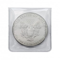 Coin pockets for coins up to 44 mm diameter