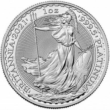 1 Oz Britannia 2021 Platinum Coin