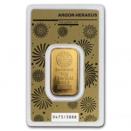 10 g Argor-Heraeus Rat Gold Bar