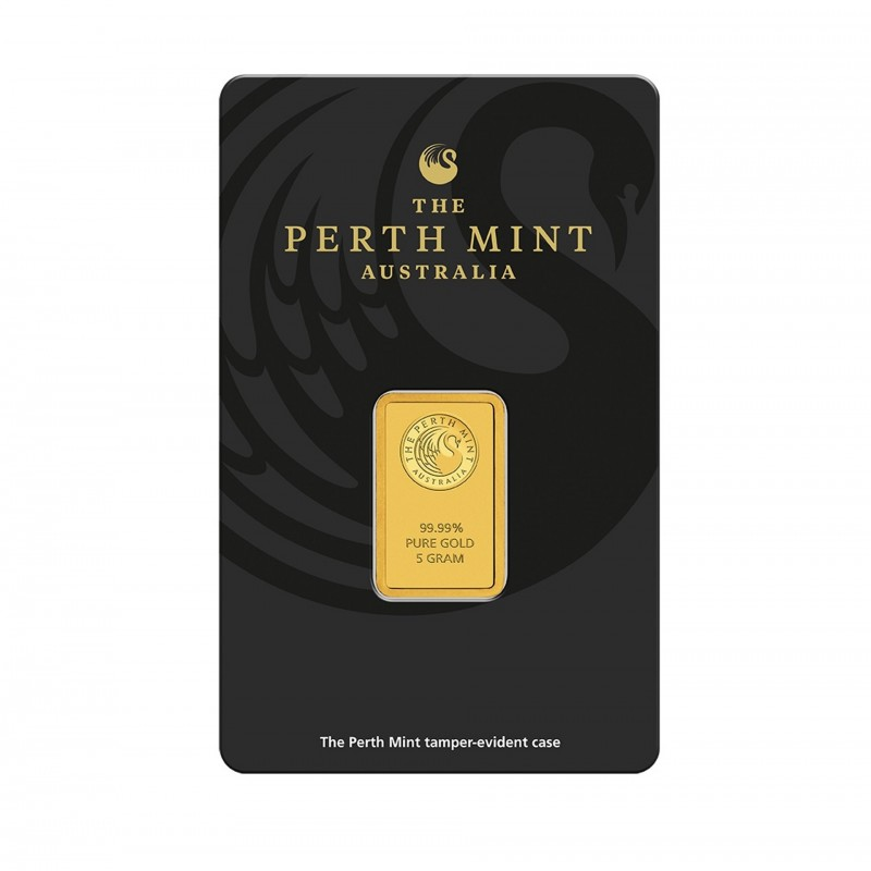 5 Grams Perth Mint Gold Bar