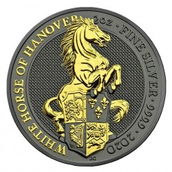 2 Oz White Horse of Hanover...