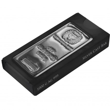 1 Kg Germania Mint Silver Bar
