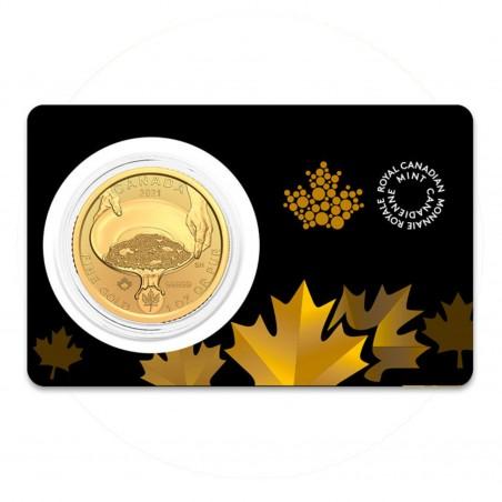 1 Oz Klondike Gold Rush 2021 Gold Coin