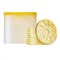 1 Oz Queen's Beasts Completer Gold Coin 2021