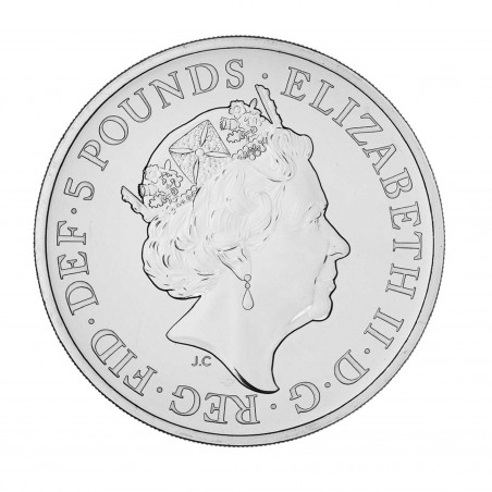2 Oz The Completer 2021 Silver Coin