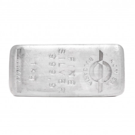 1 Kg KCM Fine Silver Bar 999.9