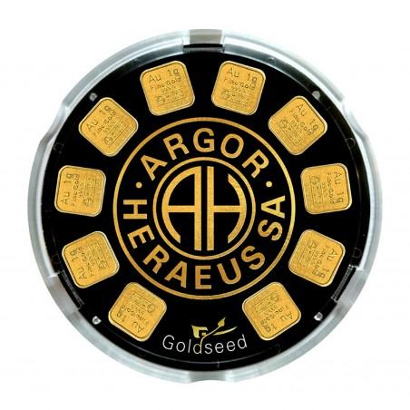 10 Grams Argor-Heraeus Gold Seed