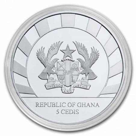 1 Oz Rhinoceros 2021 Silver Coin