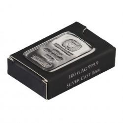 100 Grams Germania Mint Silver Bar