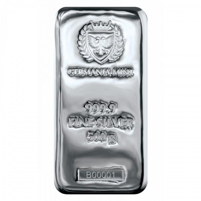500 Grams Germania Mint Silver Bar