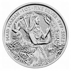 1 Oz Maid Marian 2022 Silver Coin
