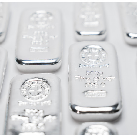500 Grams Argor-Heraeus Silver Bar
