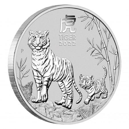 1 Oz Lunar Tiger 2022 Silver Coin