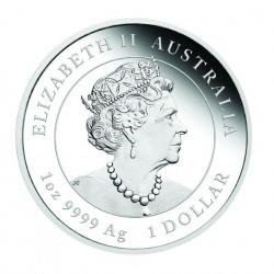 PRE-SALE 1 Oz Lunar Tiger 2022 Silver Proof Coin