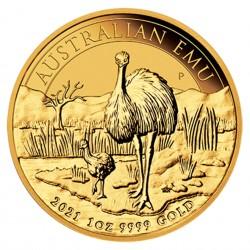 1 Oz Emu 2021 Gold Coin