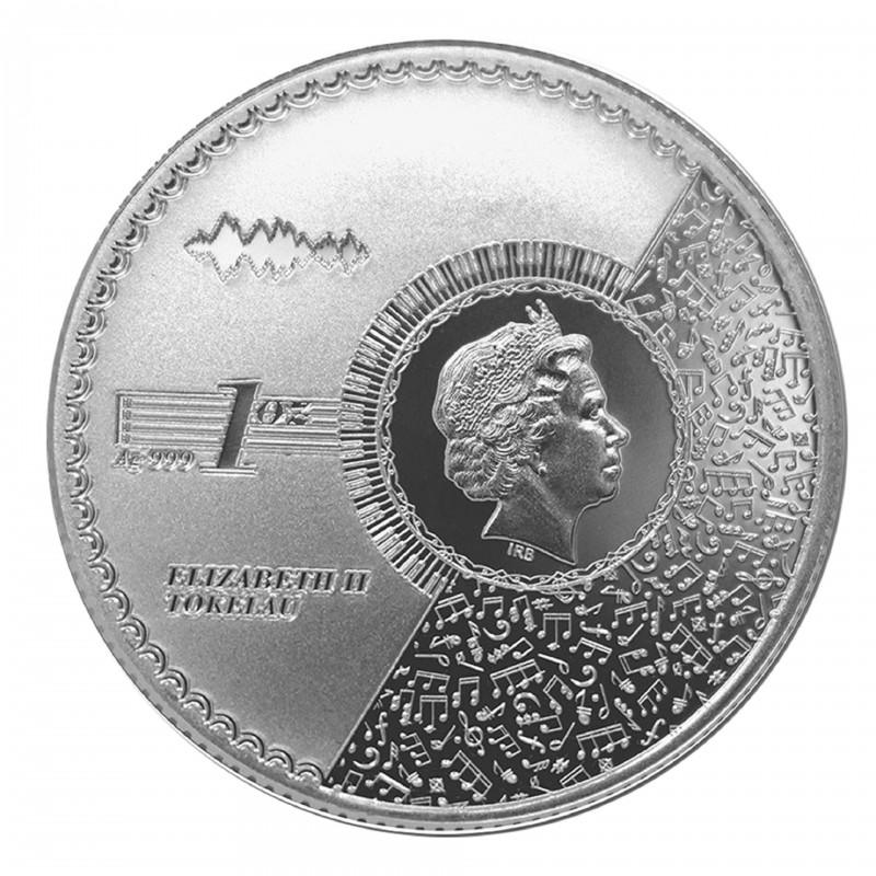 1 Oz Vivat Humanitas 2021 Silver Coin