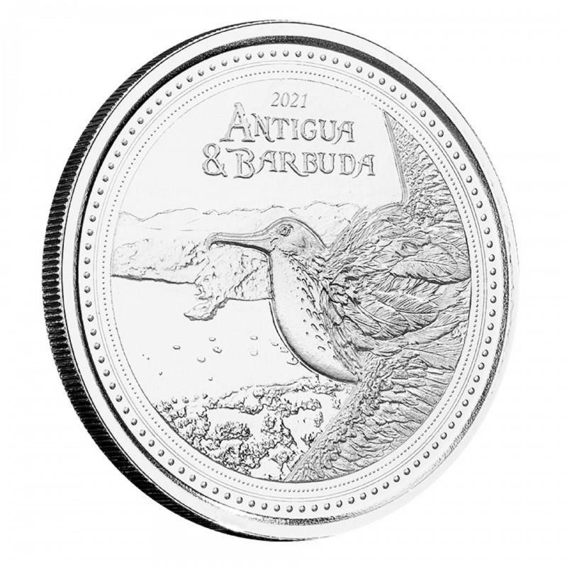 1 Oz Antigua & Barbuda 2021 Frigate Bird Silver Coin