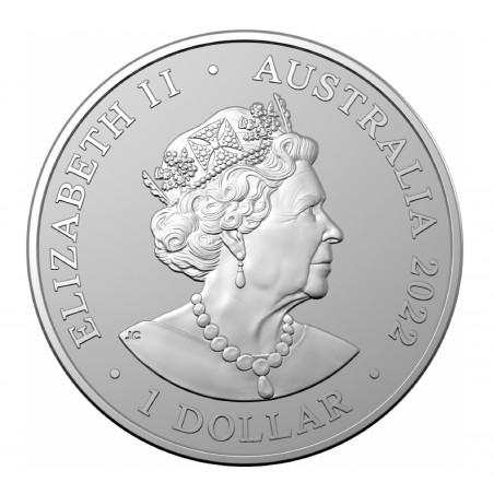 1 Oz Scorpion 2022 Silver Coin