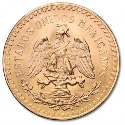 50 Mexican Pesos 1821-1947 Gold Coin