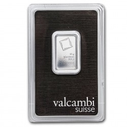 10 Grams Valcambi Platinum Bar