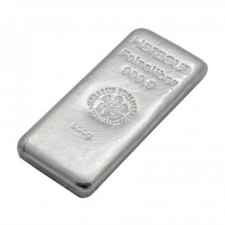 500 Grams Heraeus Silver Bar