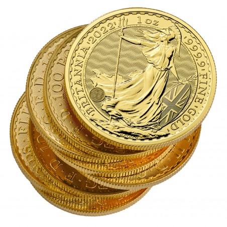 1 Oz Britannia 2022 Gold Coin