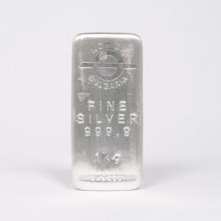 1 Kg KCM Fine Silver Bar...