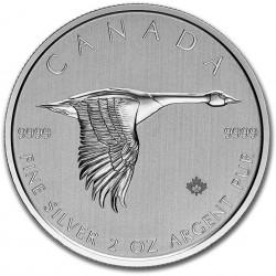 2 Oz Canada Goose Silver...
