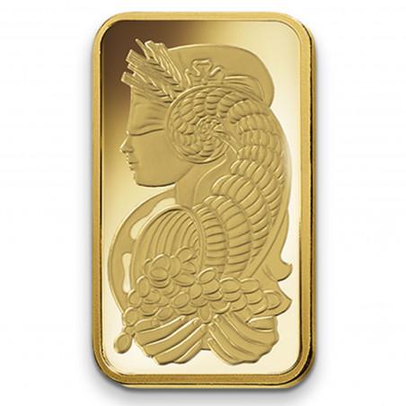 100 Grams PAMP Fortuna Gold Bar