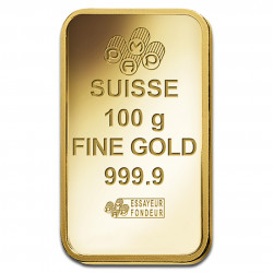 100 Grams PAMP Fortuna Gold...
