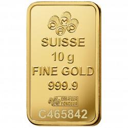 10 Grams PAMP Fortuna Gold Bar