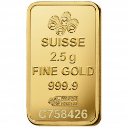 2.5 Grams PAMP Fortuna Gold...