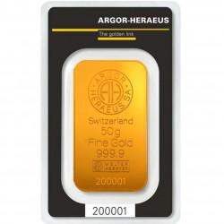 50 Grams Argor-Heraeus Gold...