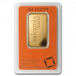 1 Oz Valcambi Gold Bar