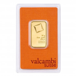 20 Grams Valcambi Gold Bar