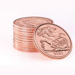 Half Sovereign 2020 Elizabeth II Gold Coin
