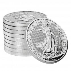 1 Oz Britannia 2021 Fine Silver Coin