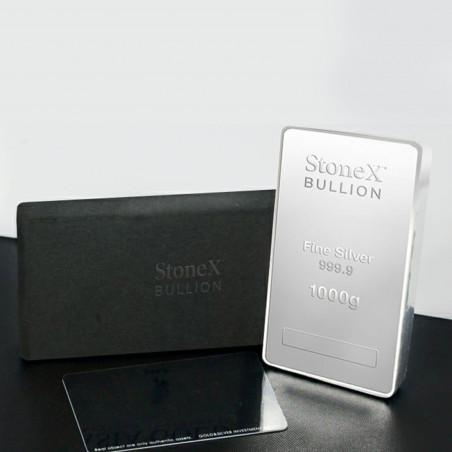 1 KG StoneX Silver Coin Bar