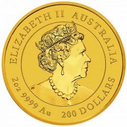 2 Oz Australian Ox 2021 Gold Coin