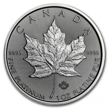 1 Oz Maple Leaf 2021 Platinum Coin