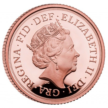 Sovereign 2021 Elizabeth II Gold Coin